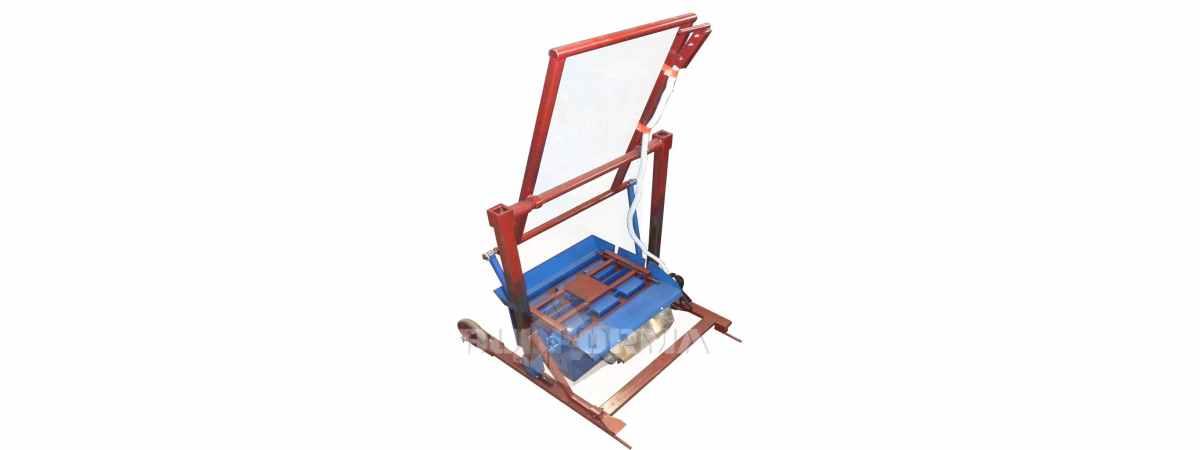 Станок для производства шлакоблоков простеночных блоков СК-2 Габариты 650х440х1550 мм
