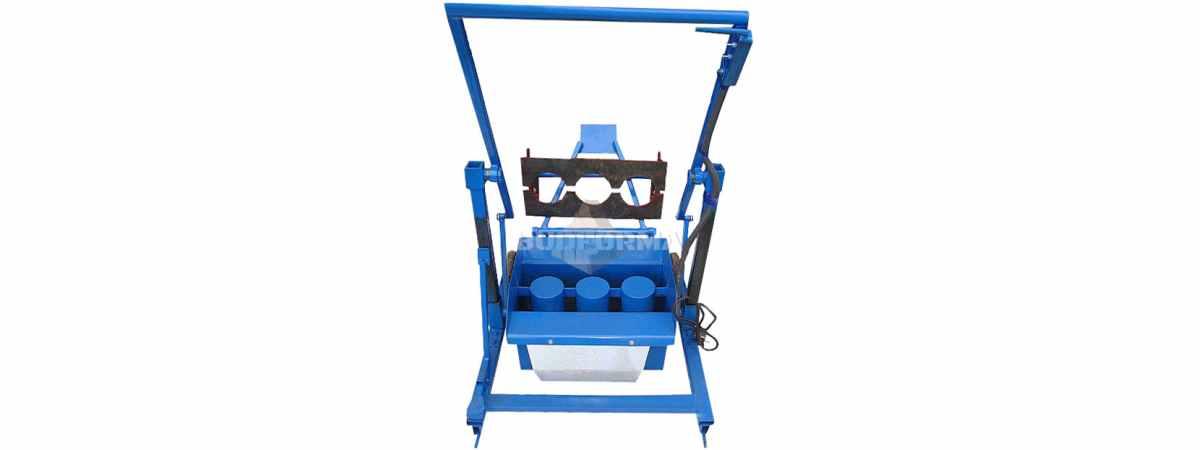 Станок для производства шлакоблоков СШ-1Н Габариты 1200х550х440 мм