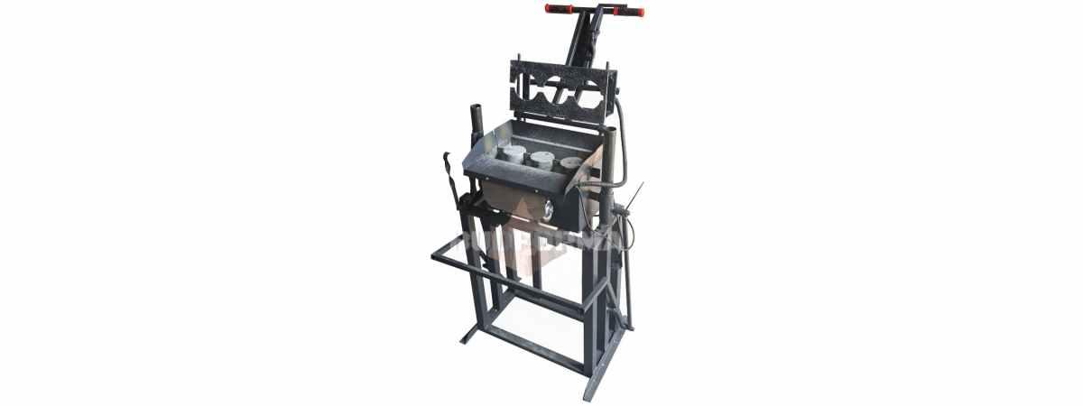 Станок для производства шлакоблоков стационарного типа СШ-1С Габариты 9600х600х1000 мм