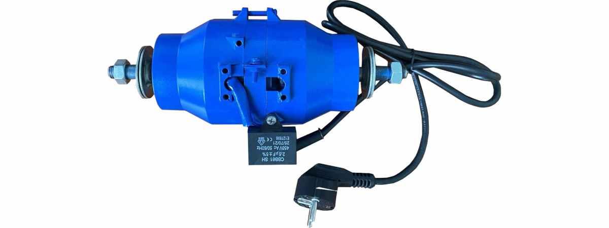 Мотор для шлакоблочного станка, вибростола, вибросита Мощность 150 Вт Напряжение 220 в