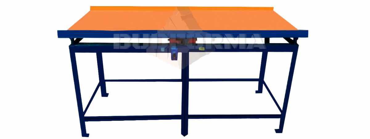 Вибростол для производства заборов и тротуарной плитки ВСК-2100 Размеры 2100х800х800 мм