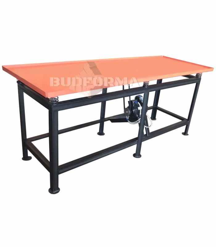 Вибростол для производства заборов и тротуарной плитки ВС-2100-380 Размеры 2100х800х800 мм