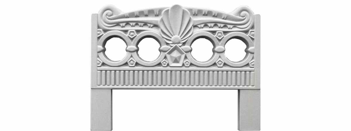 Форма для оградки №5 Размеры 800х600х40 мм