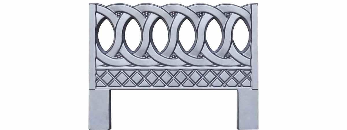 Форма для оградки №6 Размеры 800х600х40 мм