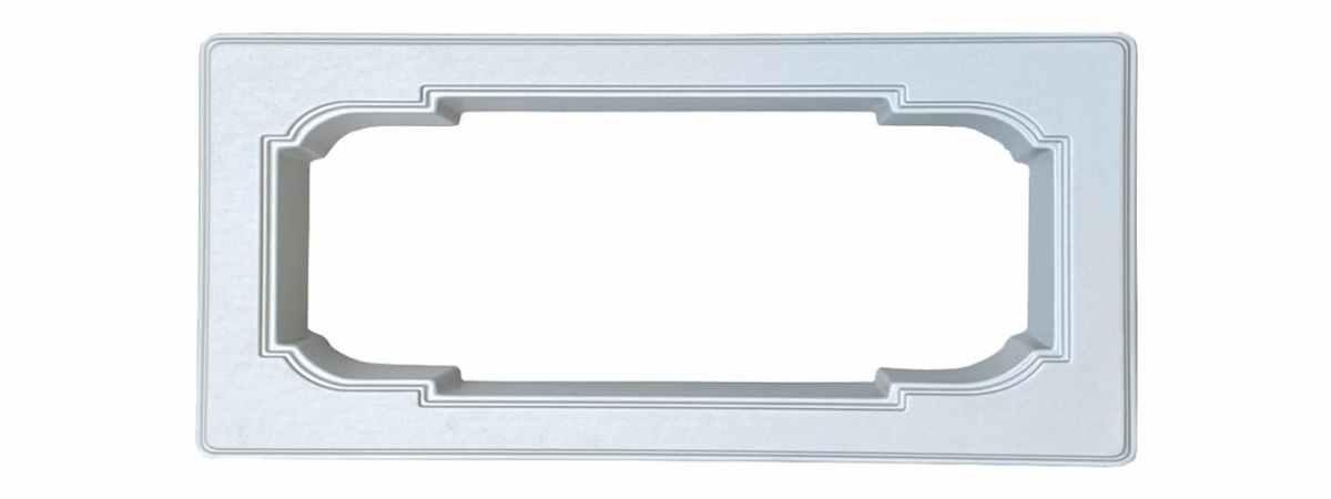 Форма для памятника Цветочница №104 Размеры 1000х570х100 мм