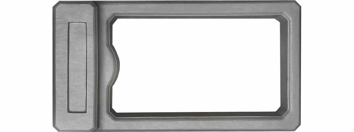 Форма для памятника Цветочница №105 Размеры 1100х600х90 мм
