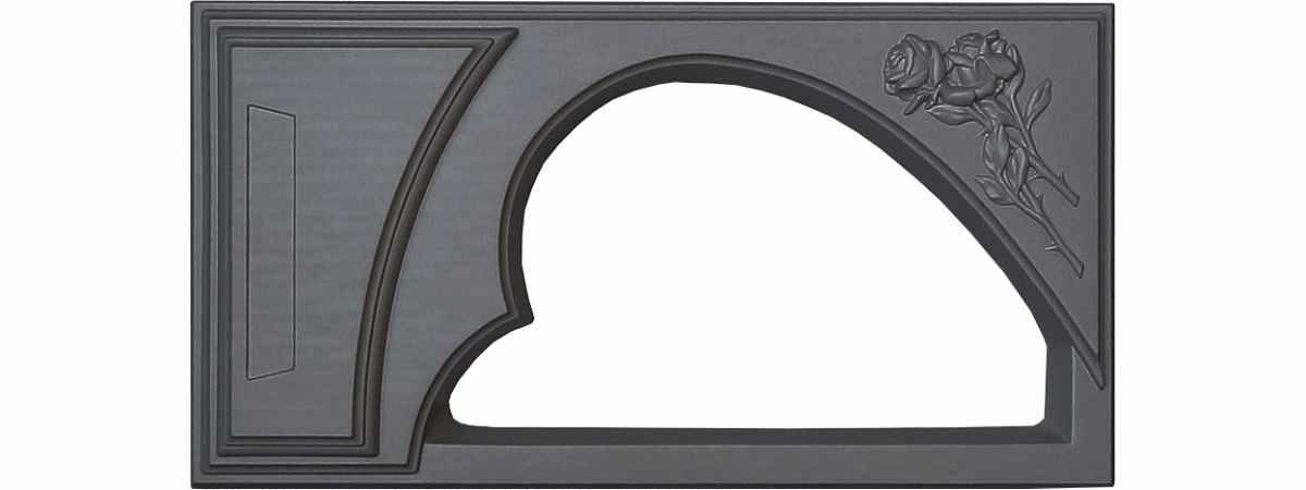 Форма для памятника Цветочница №110 Размеры 1300х700х110/90 мм