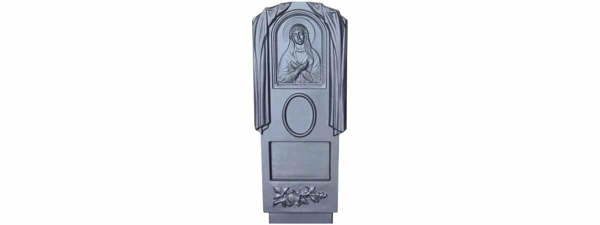 Форма для памятника №004 Размеры 1100х500х100 мм