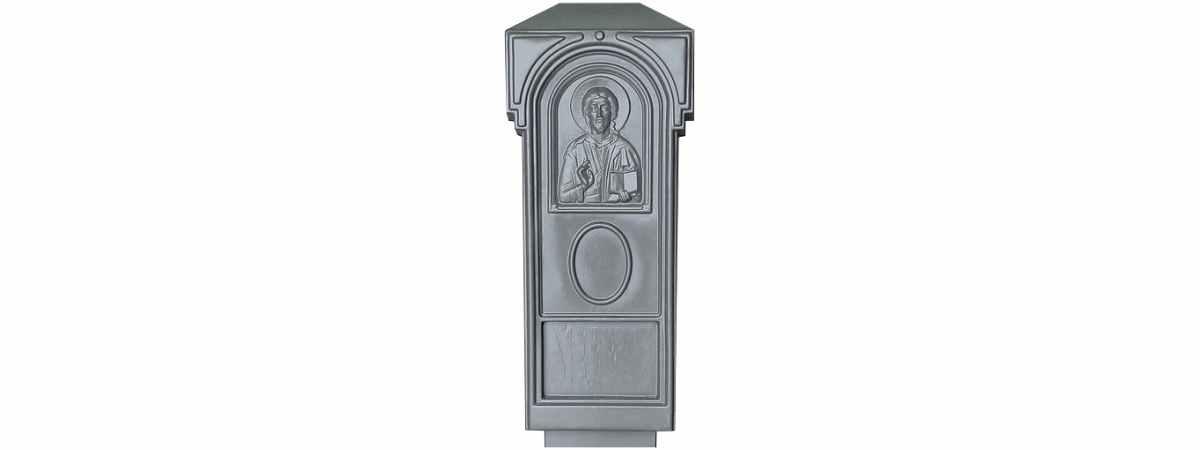 Форма для памятника №007 Размеры 1100х500х100 мм