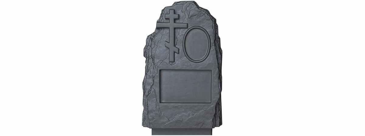 Форма для памятника №012 Размеры 800х450х170 мм