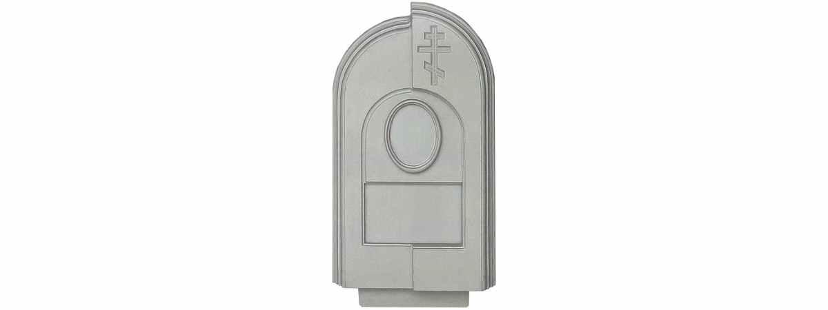Форма для памятника №015.2 Размеры 900х450х100 мм