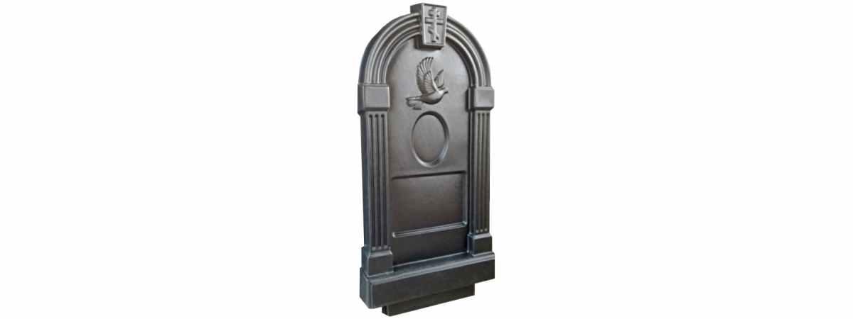 Форма для памятника №017.1 Размеры 1030х500х130 мм