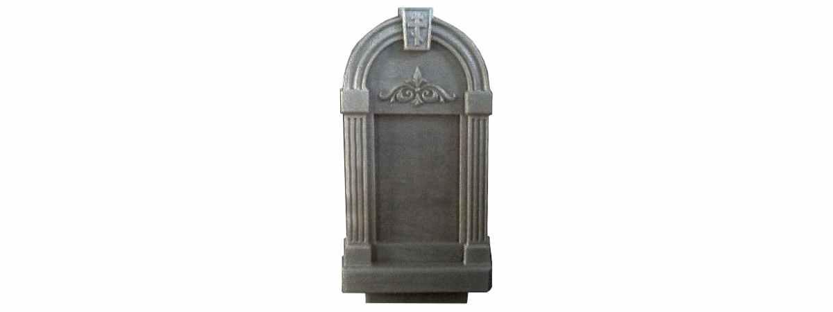 Форма для памятника №017.2 Размеры 1030х500х130 мм