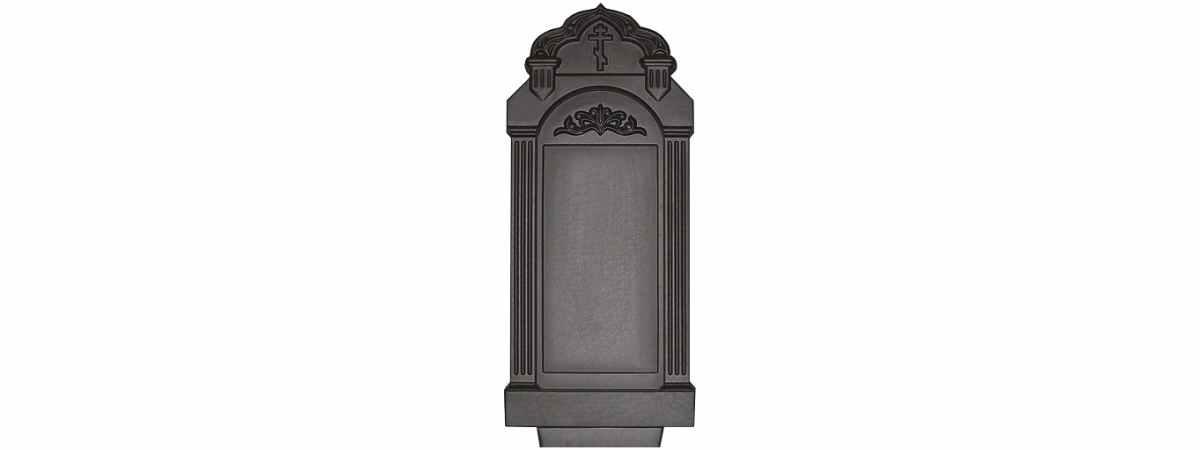 Форма для памятника №020.1 Размеры 1030х500х130 мм