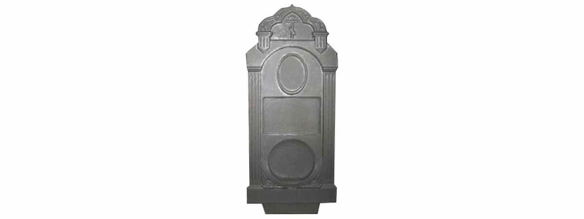 Форма для памятника №020.2 Размеры 1030х500х130 мм