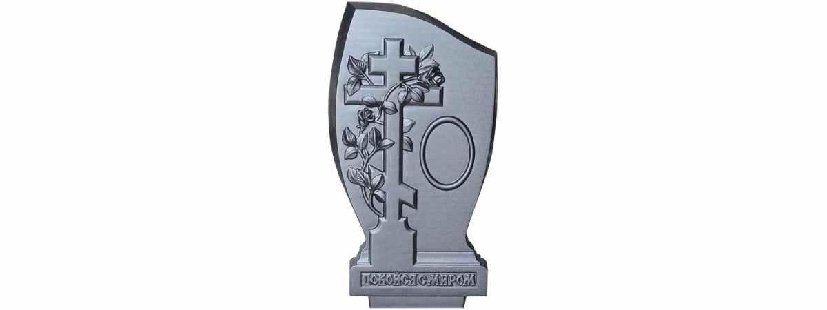 Форма для памятника №021 Размеры 1030х500х130 мм