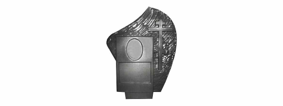 Форма для памятника №023.1 Размеры 860х670х110 мм