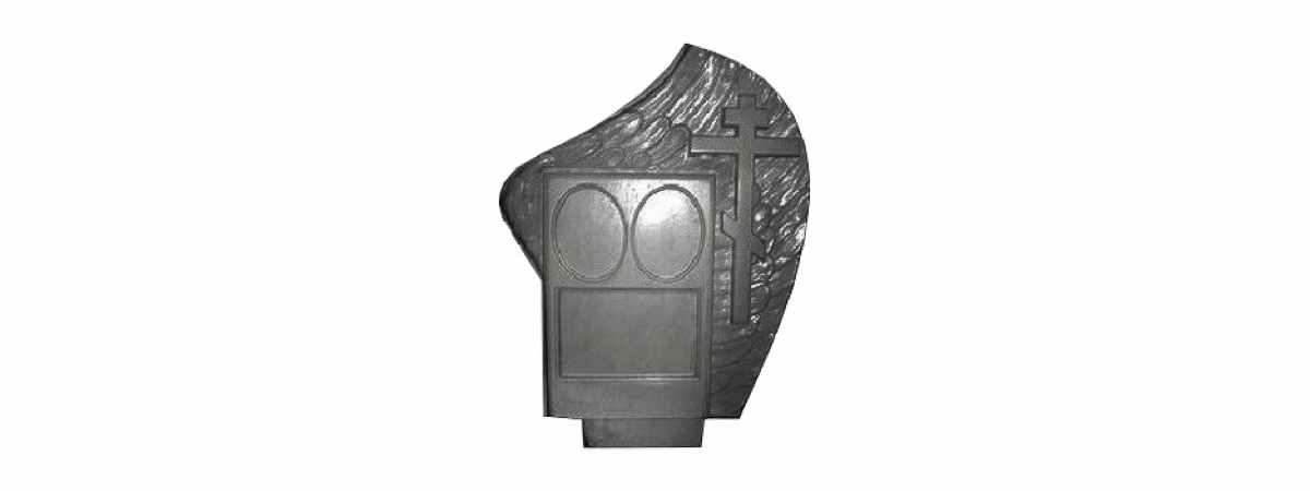 Форма для памятника №023.2 Размеры 860х670х110 мм