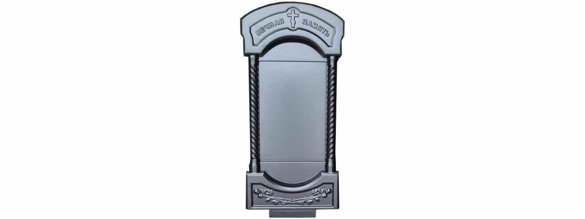 Форма для памятника №А10 Размеры 1220х590х70 мм