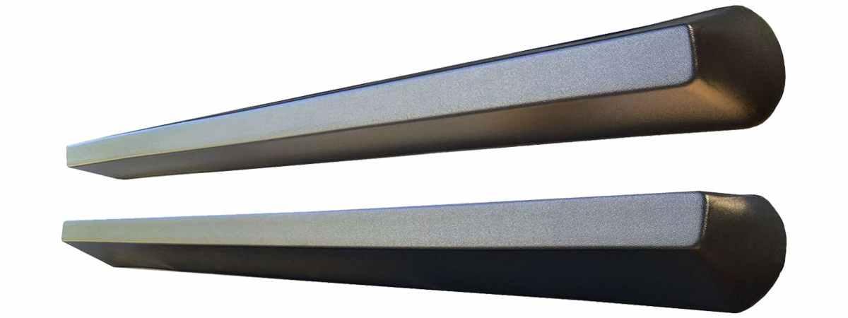 Форма противоусадочной подставки под памятник №2 (пара) Размеры 1200х120х80(100) мм