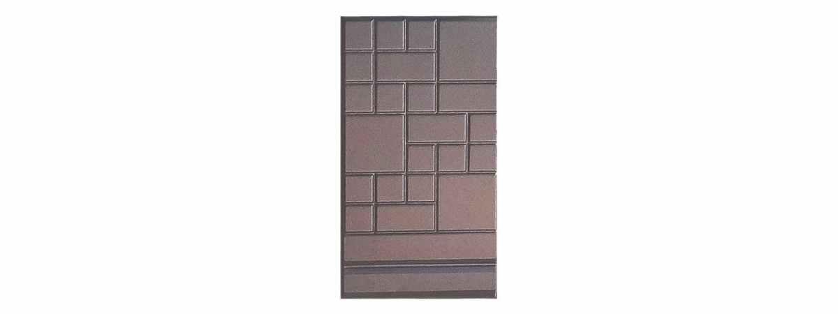 Форма противоусадочной плиты под памятник , добавочная №2-1 Размеры 550х300х50 мм