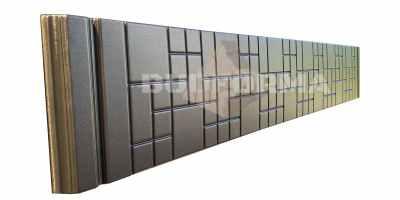 Форма противоусадочной плиты под памятник, добавочная №2 Размеры 300х1950х50 мм