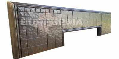Форма противоусадочной плиты под памятник №6 Размеры 2000х600х50 мм