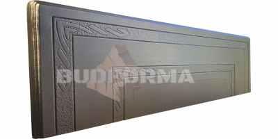 Форма противоусадочной плиты под памятник №7 Размеры 650х1950х50 мм