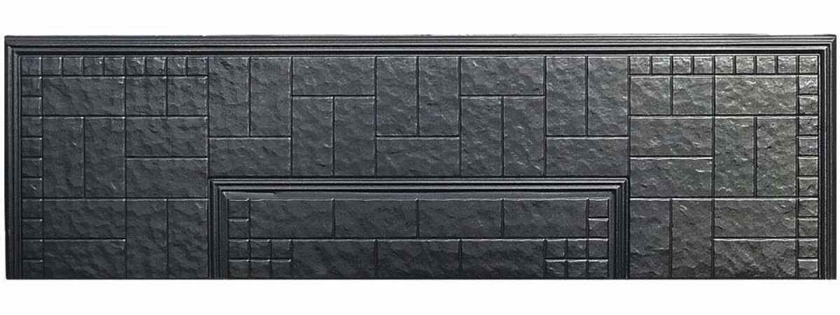 Форма противоусадочной плиты под памятник №8 Размеры 2000х600х50 мм