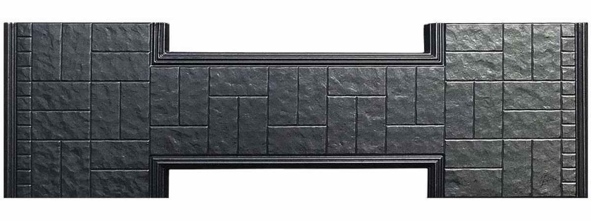 Форма противоусадочной плиты под памятник №9 Размеры 2000х600х50 мм