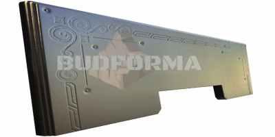 Форма противоусадочной плиты под памятник №13 Размеры 1600х625х50 мм