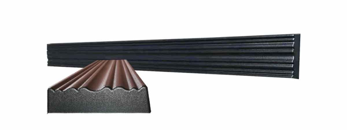 Форма для молдинга полифасада №2 Размеры 1500х120х40 мм