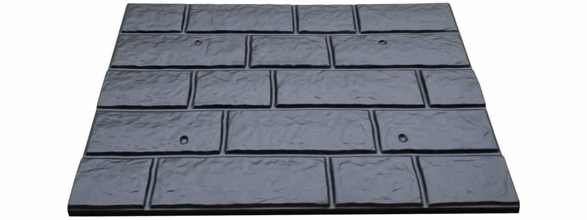 Форма для полифасада №55 Размеры 600х400х22 мм
