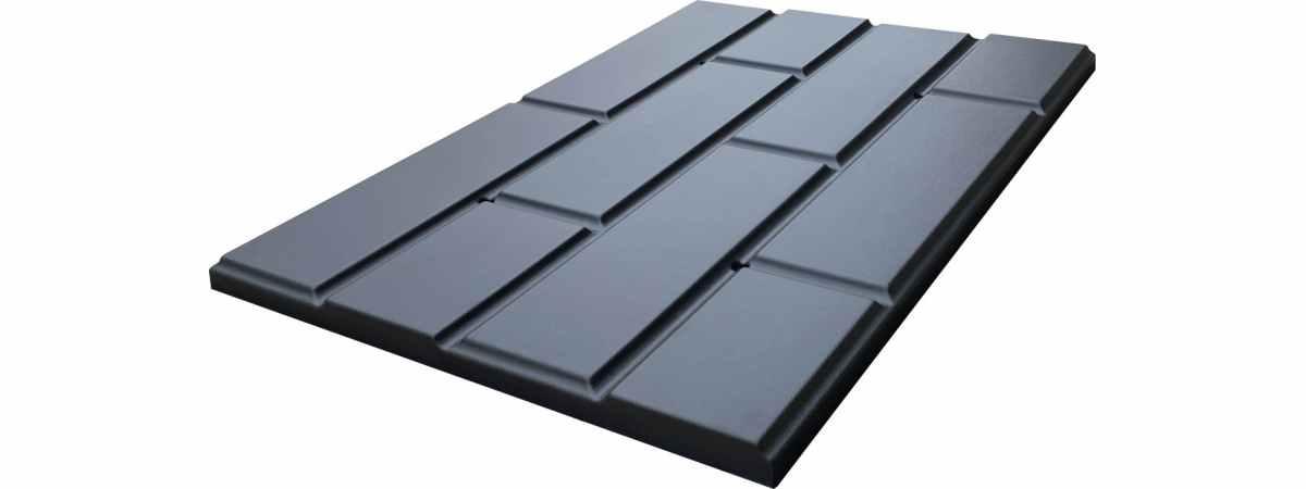Форма для полифасада №56 Размеры 600х400х22 мм