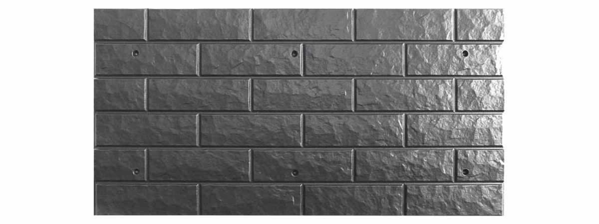 Форма для полифасада №24 (дополняет №22) Размеры 1000х500х20 мм