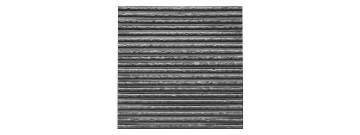 Форма для полифасада №37 Размеры 500х500х18 мм