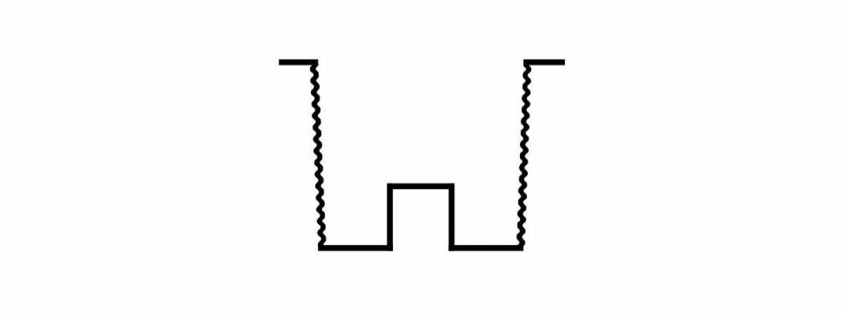 """Форма для столба """"Ломаный камень"""" двухсторонняя распашная №21 с пазом Размеры 2750х120х120 мм"""
