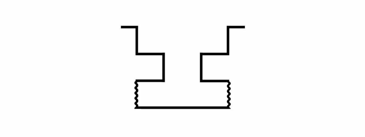 """Форма для столба """"Гладкая"""" распашная №29 с пазами Размеры 2750х125х125 мм"""