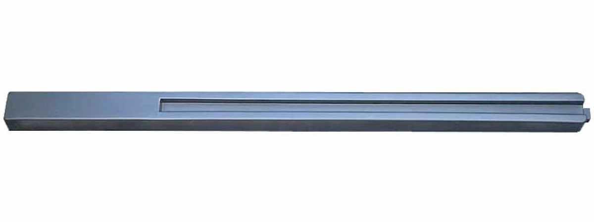 """Форма для столба """" Гладкая """" №33 с пазом Размеры 2800х130(125)х110 мм"""