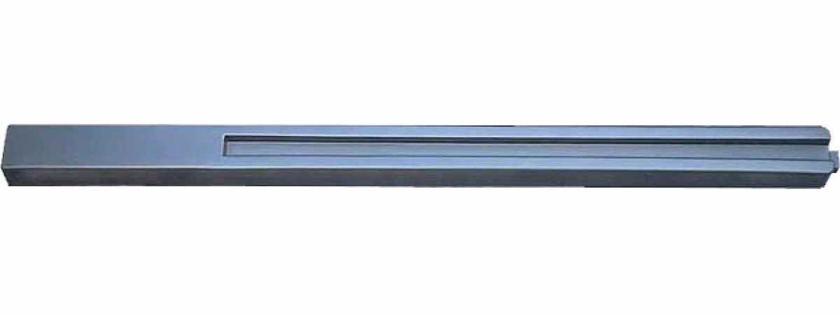 """Форма для столба """"Гладкая"""" №33-А с пазом Размеры 2495х130(125)х110 мм"""