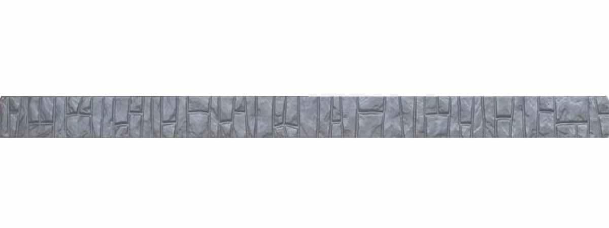 "Форма для столба ""Ломаный кирпич"" №12 без пазов Размеры 2800х125х125 мм"