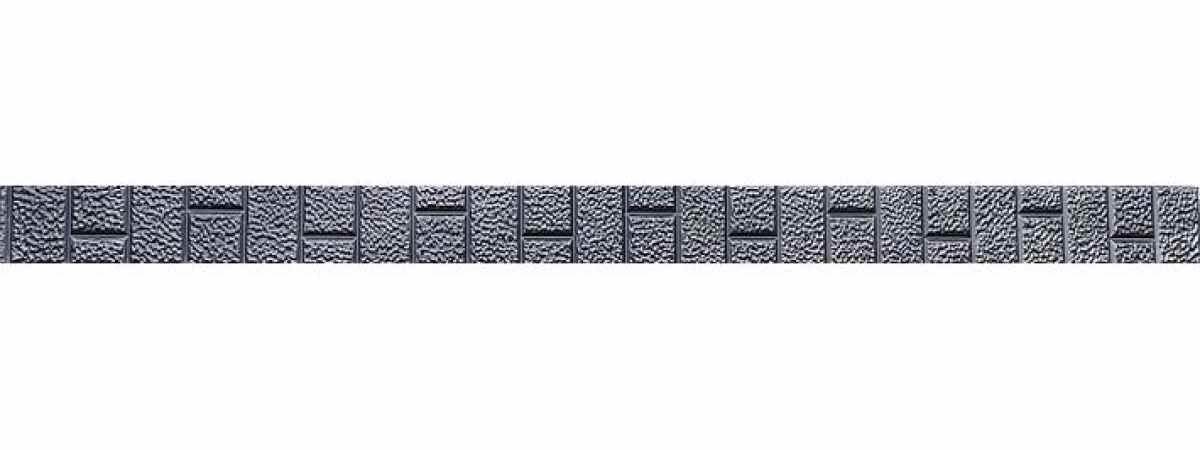 """Форма для столба """"Шуба"""" распашная №22 с пазами Размеры 2850х150х135 мм"""