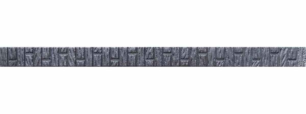 """Форма для столба """"Клинкер"""" распашная №23 с пазами Размеры 2850х150х135 мм"""