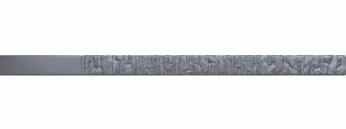 """Форма для столба """"Песчаник"""" №3 без пазов Размеры 2800х125х125 мм"""