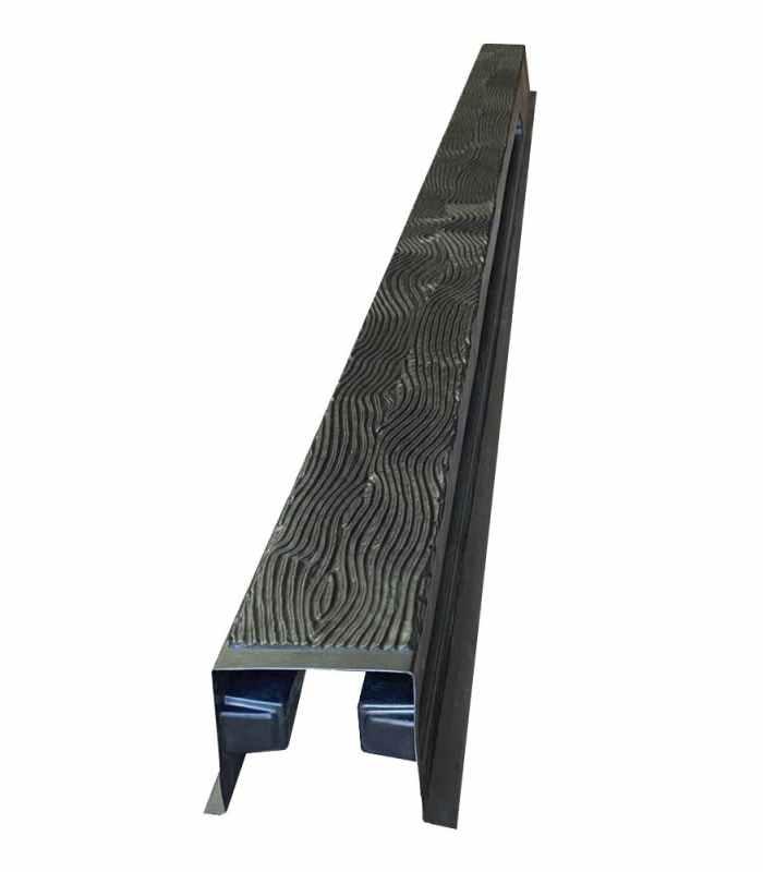 Форма для столба распашная Дерево №34 с пазами Размеры 2800х125х125 мм