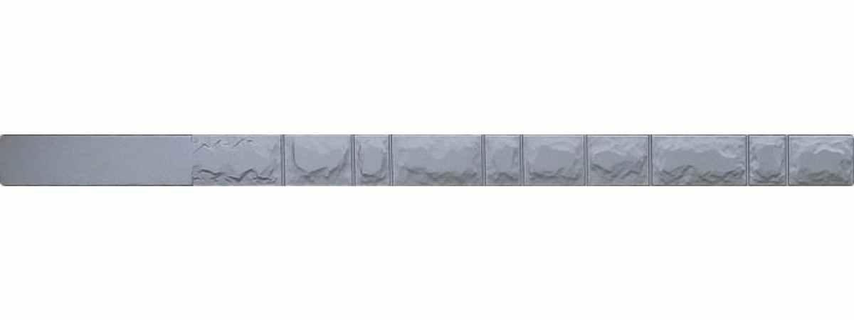 "Форма для столба ""Колотый кирпич"" №5 без пазов Размеры 2800х125х125 мм"