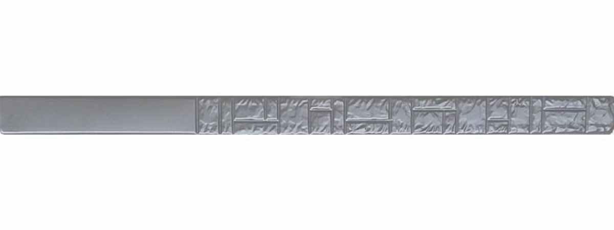 """Форма для столба """"Колотый камень"""" №8 без пазов Размеры 2200х125х125 мм"""