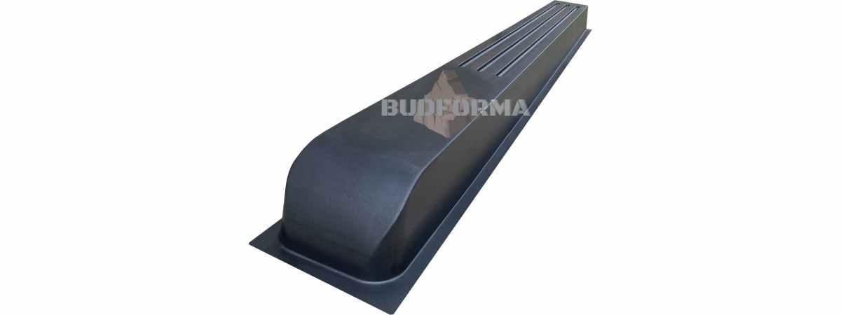 Форма для столба Греция №39 без пазов Размеры 2200х200х120 мм