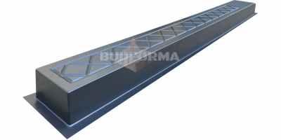 Форма для столба Византия №40 без пазов Размеры 2200х200х120 мм