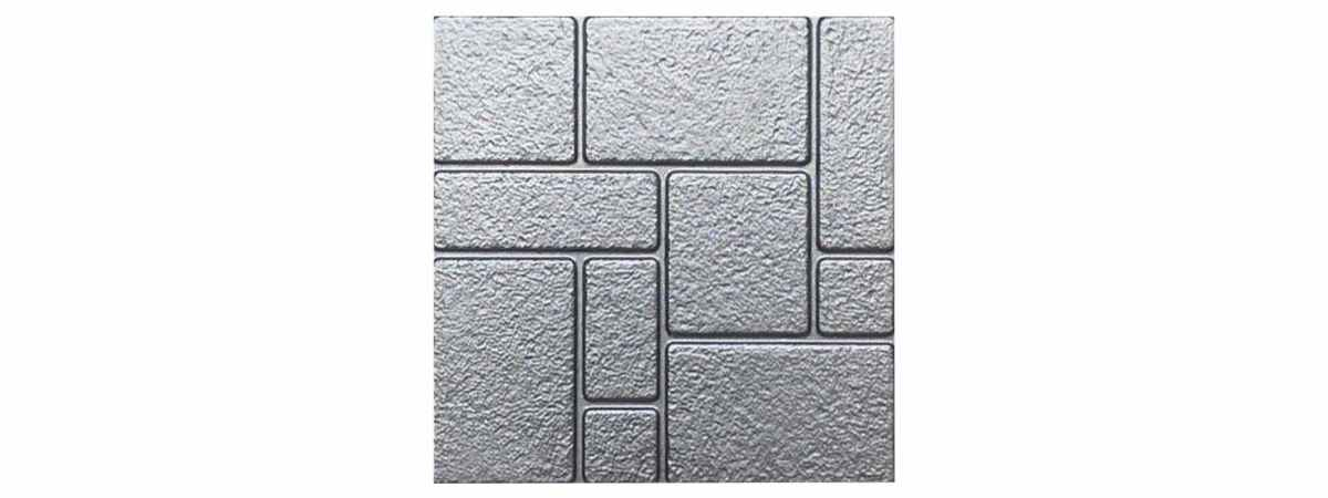 Форма для тротуарной плитки №18 Размеры 500х500х50 мм